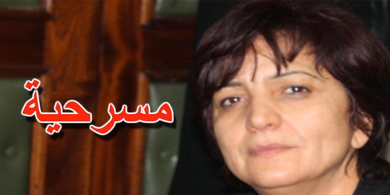 سامية عبو: الغنوشي سيبقى رئيسا للمجلس وما يحصل مجرد مسرحية