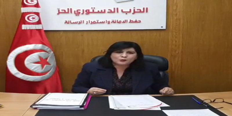 بالفيديو: عبير موسي: لن تنالوا من قيمة الزعيم الحبيب بورقيبة مهما شوّهتم