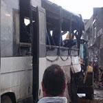 حادث اصطدام قاطرة بحافلة يسفر عن مقتل 6 و اصابة 32 آخرين