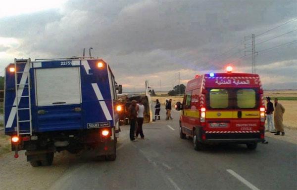 الكريب: مقتل وكيل أمن وضابط أول وإصابة عون أمن آخر في حادث
