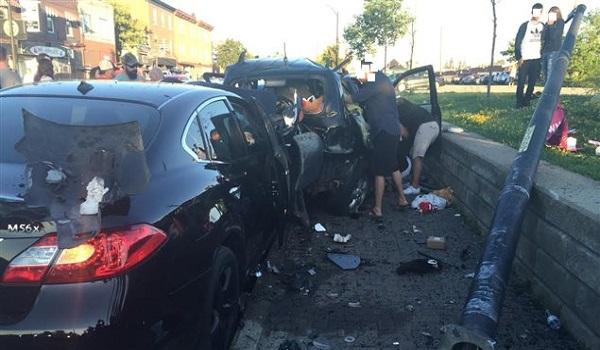 Un accident causé par une voiture administrative conduite par le fils d'un haut cadre de l'État