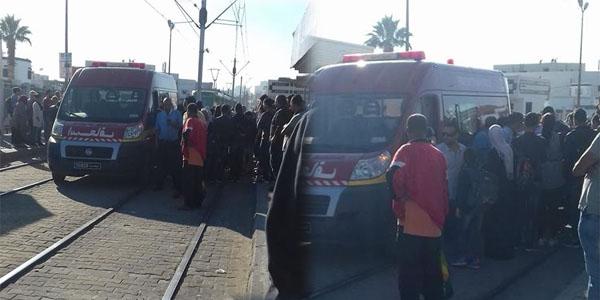 بالصّور : سقوط شخص من المترو على مستوى محطة مفتاح سعدالله
