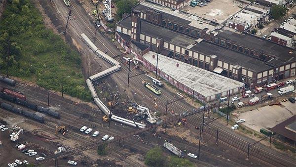 33 مصابا في حادث قطار ببنسلفانيا الأمريكية