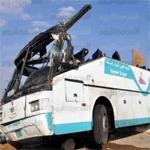 مصر: قتلى وجرحى إثر انقلاب حافلة في محافظة بني سويف