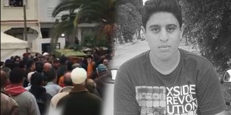 فيديو: جثمان آدم بو ليفة يغادر منزله وسط الزغاريد