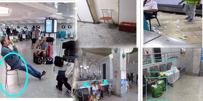 مطار تونس قرطاج يكشف حقيقة الصور المنشورة على صفحات الفيس بوك