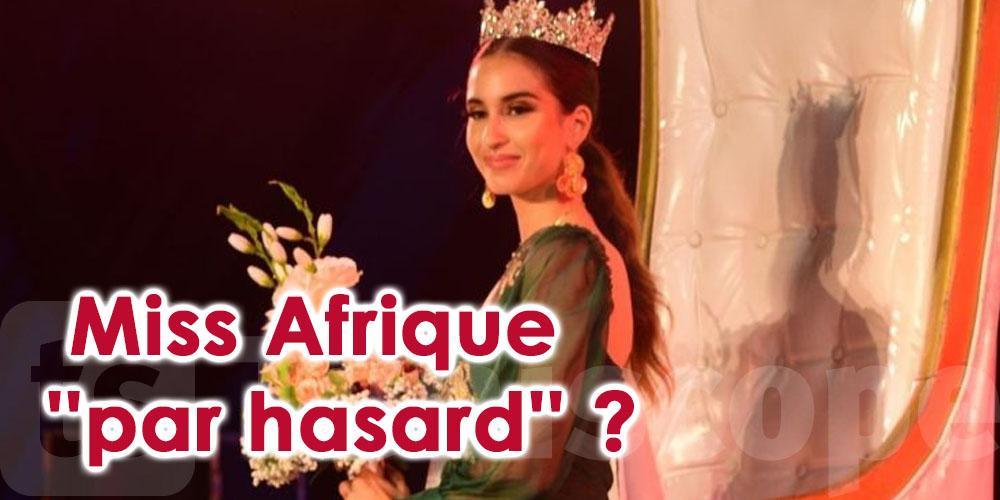La Tunisienne Sarah Sellimi, Miss Afrique ''par hasard'' ?
