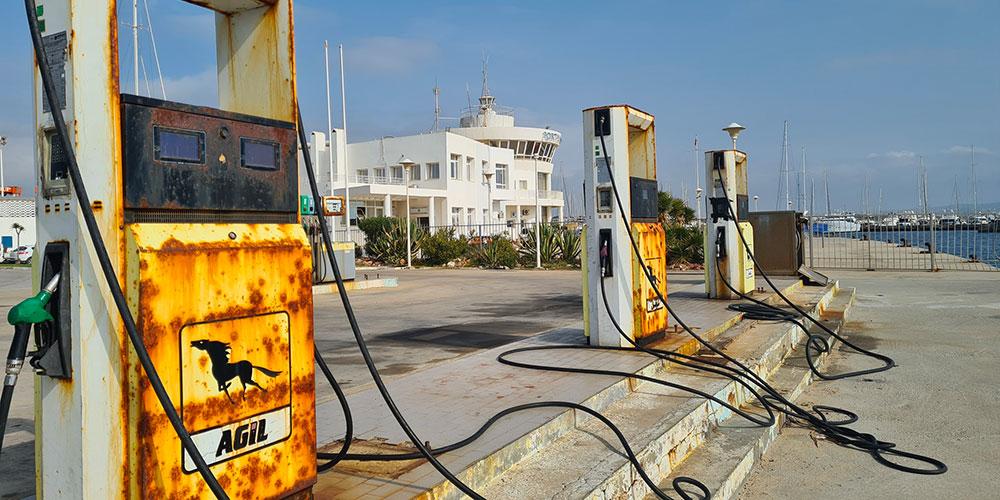 En photos : Une honte pour Agil au Port Yasmine Hammamet