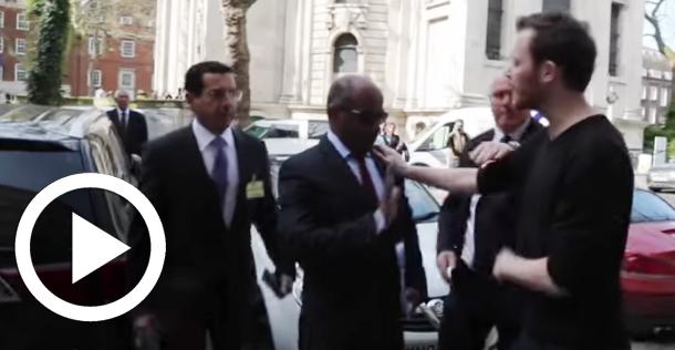 En vidéo : Tentative d'agression du conseiller du ministre saoudien de la Défense à Londres