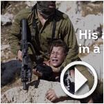 En vidéo: Images choquantes d'un soldat israélien agressant un enfant palestinien