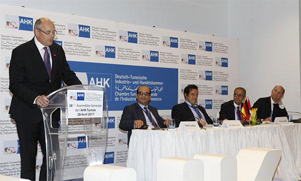 Ibrahim Debache nouveau Président de l'AHK