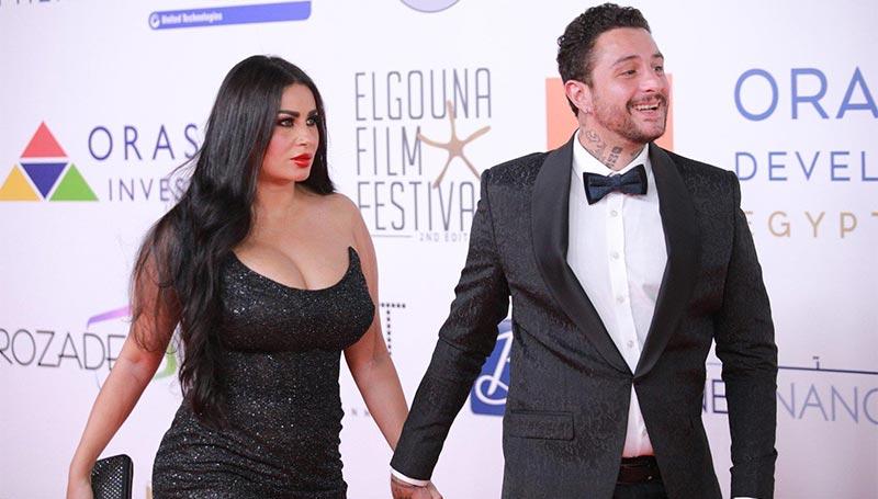 بالفيديو: أحمد الفيشاوي يحتفل بطريقته الجريئة بميلاد زوجته