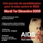 Journée de sensibilisation anti-Sida ( VIH) - Mardi 1 Decembre