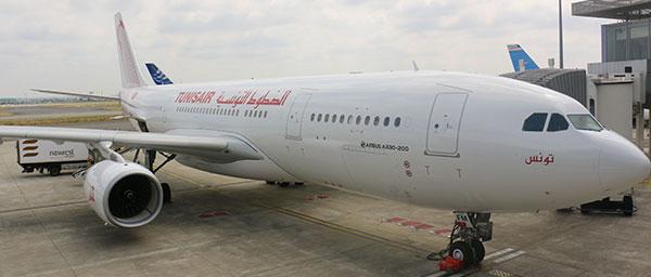 TUNISAIR précise l'affaire du retour du A330 à Toulouse