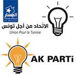 Comme l'AKP d'Erdogan, l'Union pour la Tunisie choisit l'ampoule comme symbole