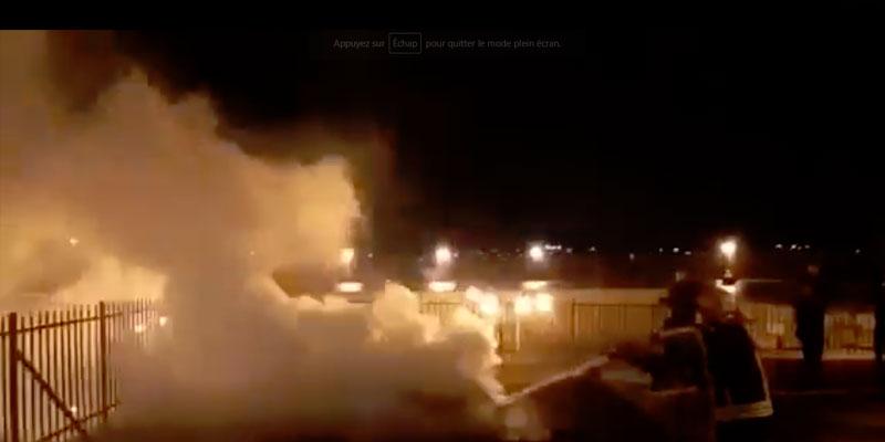 En même temps qu'à Notre Dame, un incendie se déclare à la mosquée Al Aqsa à Jerusalem