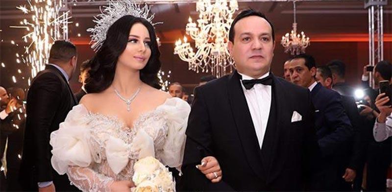 بالصورة: الزوجة الاولى لعلاء الشابي تحضر حفل زفافه