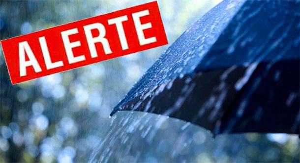 Alerte météo : Attention aux fortes pluies orageuses...