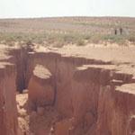 ظاهرة طبيعية :الارض تنشقّ بصحراء الجزائر