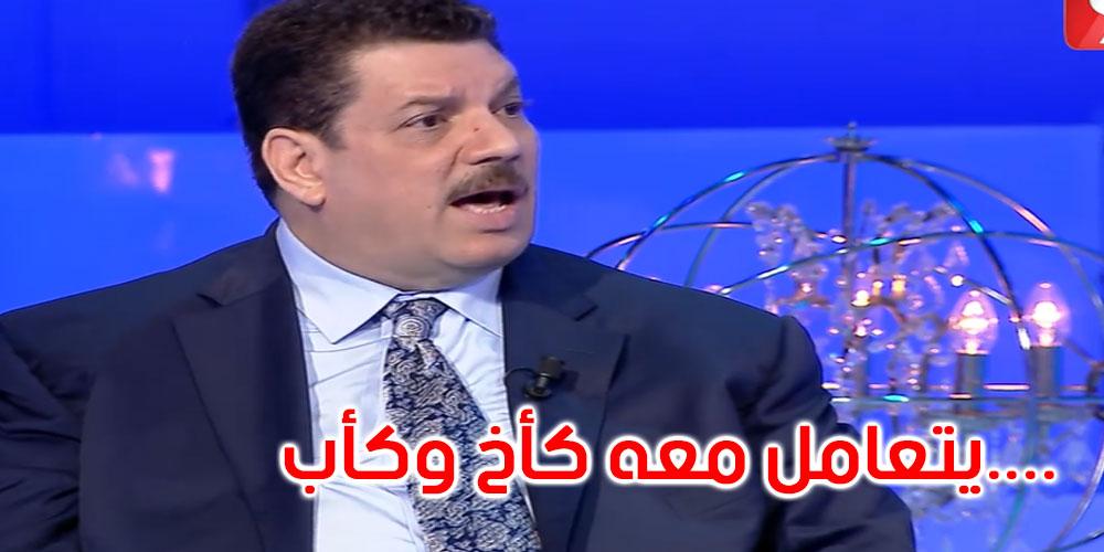 بالفيديو: علي الحفصي: هشام المشيشي يعتبر قيس سعيد كيما خوه الكبير