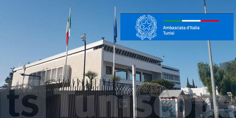 L'ambassade d'Italie met en garde les Italiens residents en Tunisie