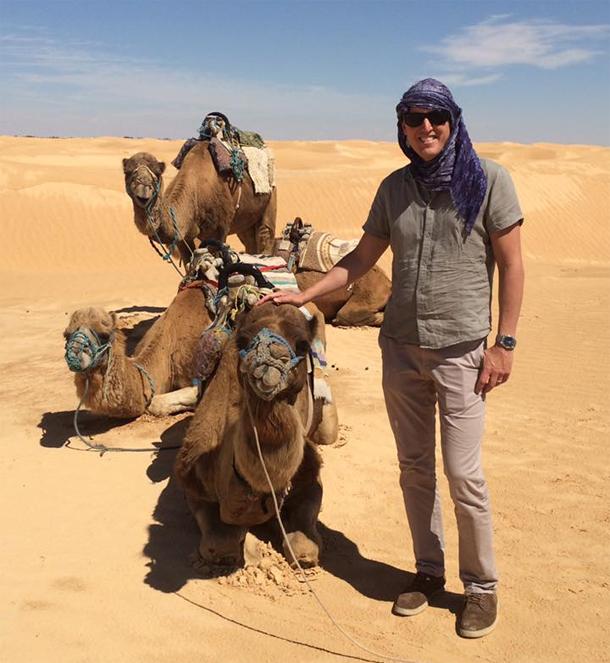 En photos...L'ambassadeur de Suède en Tunisie : La beauté de sud tunisien m'a coupé le souffle…