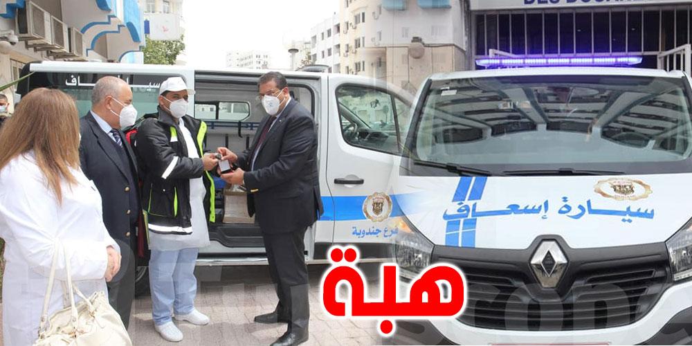 هبة من أحد المواطنين..سيارة إسعاف جديدة للديوانة بجندوبة