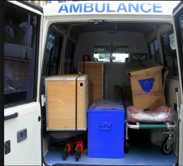 توزيع سيارات إسعاف جديدة على لثلاثة جهات صحية