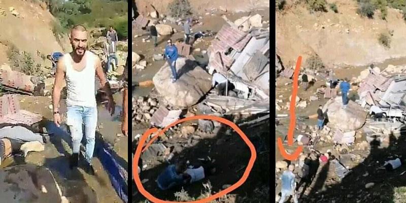 بالفيديو: متّهم بسرقة أغراض ضحايا حادث عمدون: الشاب المعنيّ يُوضّح