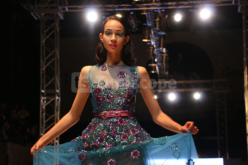 En photos : Défilé de Amine Hajri à la Fashion Week de Tunis