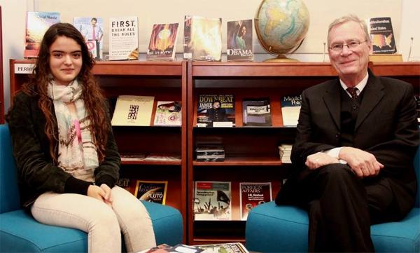 L'ambassade américaine parraine la jeune musicienne Amira Knani  pour son voyage aux USA