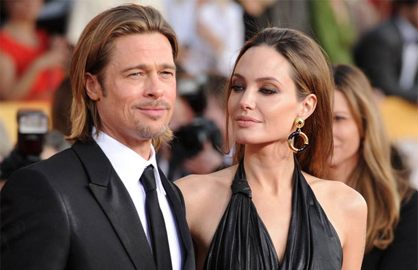 ''أنجلينا جولى ترفض العمل مع براد بيت وتنسحب من فيلم ''أفريكا