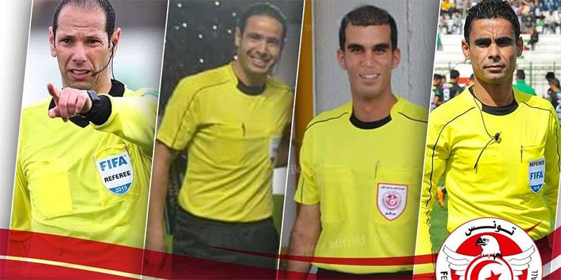طاقم تحكيم تونسي يدير لقاء جيبوتي واسواتيني لحساب تصفيات كأس العالم قطر 2022