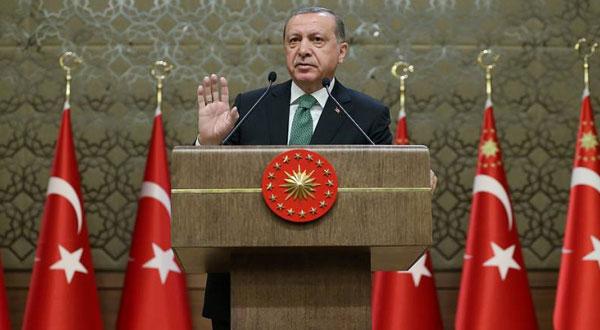 أردوغان: لن نسمح بدولة كردية شمالي سوريا