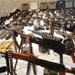 Découverte d'un immense dépôt d'armes contenant des RPG, Kalachnikov et bombes sophistiquées