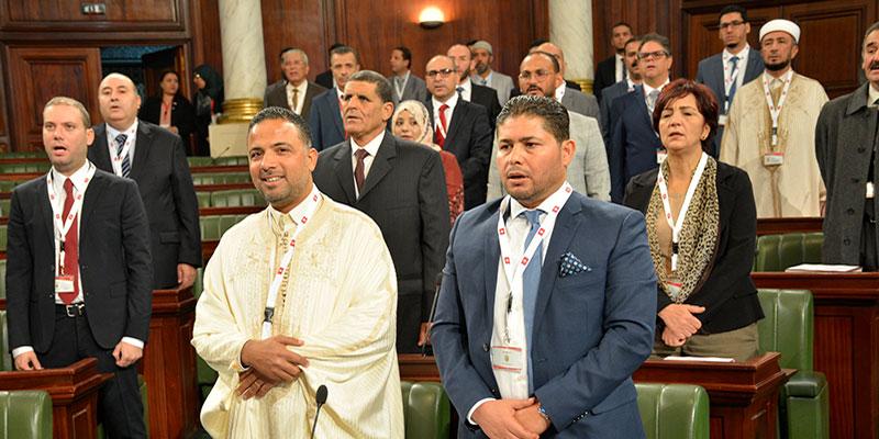 Photo du jour : Quand Seif Eddine Makhlouf prend la pause lors de l'hymne