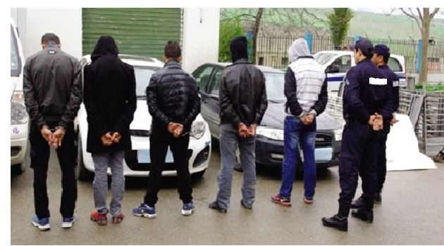 Arrestation de cinq dangereux délinquants à Sidi Hassine