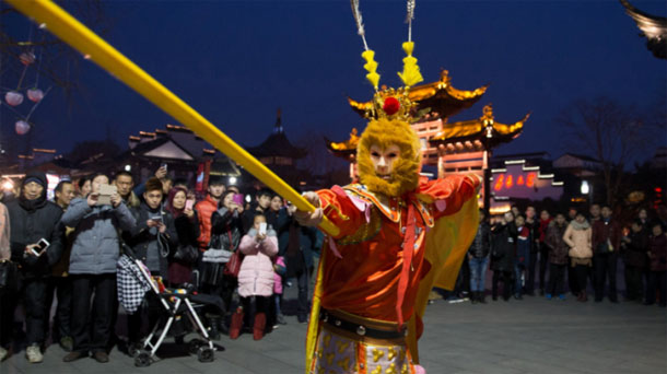 La Chine entre, demain lundi, dans l'année du Singe de Feu