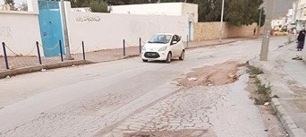 En photos : Une course aux obstacles pour atteindre une école de non-voyants à Sousse
