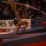 Au Caire : Syrine Balti, médaille d'or au saut à la perche