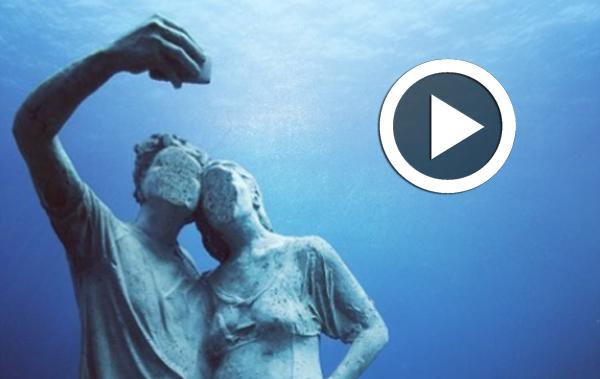 Atlantico : Un musée sous-marin où vous pouvez admirer les statues de réfugiés