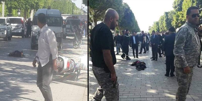 Une kamikaze se fait exploser à Tunis, neuf blessés