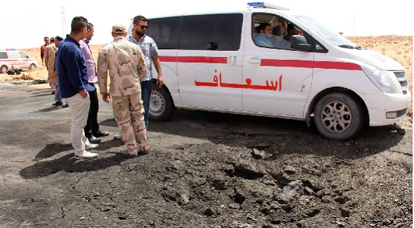 Attaque d'un tribunal à Misrata, en Libye