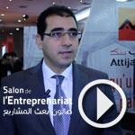 Sofiene Houari présente les packs entreprises et l'accompagnement d'Attjari Bank