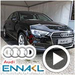 En vidéo : Découvrez la nouvelle A3 restylée et le service Warranty Mobility d'Audi