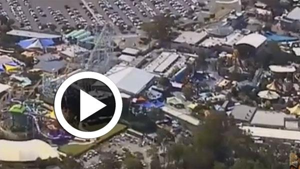بالفيديو: قتلى في حادث بأكبر مدينة ملاهي في أستراليا