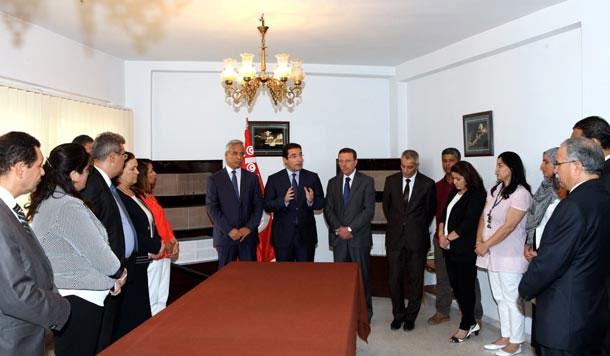 En photos : Kamel Ayadi nommé président du haut comité de contrôle administratif et financier