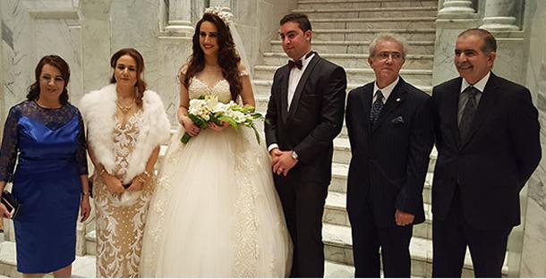 الممثل والنائب أحمد بنور يحتفل بزفاف ابنه