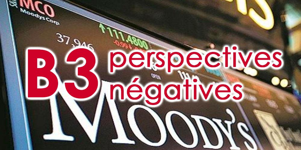 Moody's abaisse la note de la Tunisie à B3