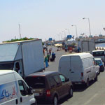 En Photos : Suicide à bord du bac de Djerba, la circulation est bloquée
